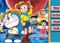 Puzzle Doraemon e Nobita