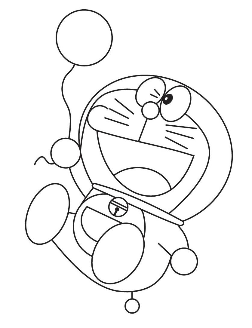 disegni di doraemon da colorare giochi di doraemon