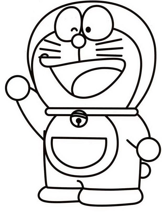 Disegni Da Colorare Di Doraemon Giochi Di Doraemon