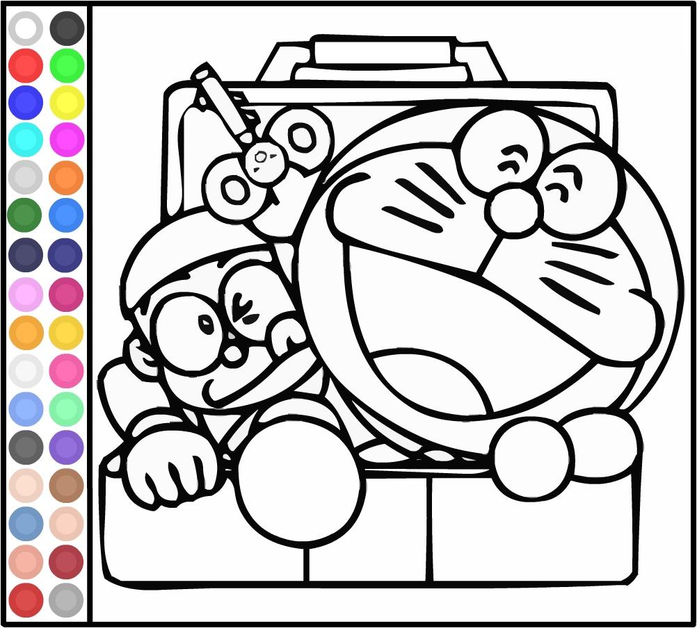 clicca e colora nobita e doraemon giochi di doraemon
