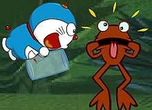 Doraemon catch firefly