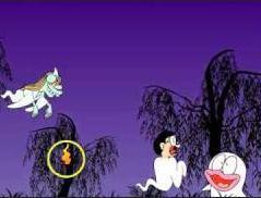 Nobita con il Fantasma
